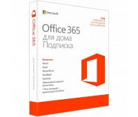 Microsoft Office 365 Home Russian Sub 1YR Russia Only Medialess P4 (6GQ-00960)