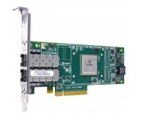 Двухпортовый HBA адаптер HP SN1000Q Dual Channel 16Gb FC Host Bus Adapter PCI-E 3.0 (LC Connector), incl. 2x16 Gbps SFP+, incl. h/ h & f/ h. brckts (QW972A)